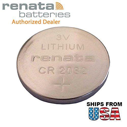 Renata CR2032-MFR 3V Lithium Coin Battery Pressure Contacts For PC CMOS IBM 02K7063 ASM 02K7062 CR2032-3P IBM ThinkPad R32 Series IBM ThinkPad R31 CR2032-TPX AHL03002111 (R31 Series Battery)