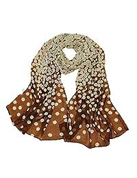 ♥ Nation Fashion Women Dot Long Soft Wrap Lady Shawl Silk Chiffon Scarf