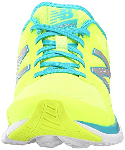 Blue W690V4 New Women's Running Shoe Yellow Balance qxC4P7