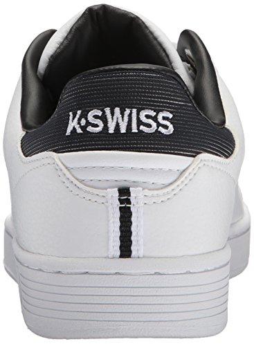 Court da Swiss Cmf Bianco Uomo Black White Scarpe Basse Ginnastica K Clean XwCEqw