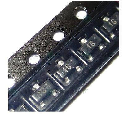 100pcs BC847 BC847B SOT-223 45V 100mA Small Signal...