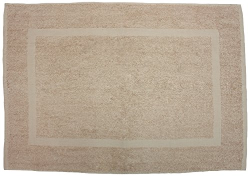 J&M Home Fashions Ultra Soft Absorbent Cotton Luxury Spa Bath Mat, 20x30, Perfect for Shower, Vanity, Bath Tub, Sink, and (Classic Solid Color Tile)