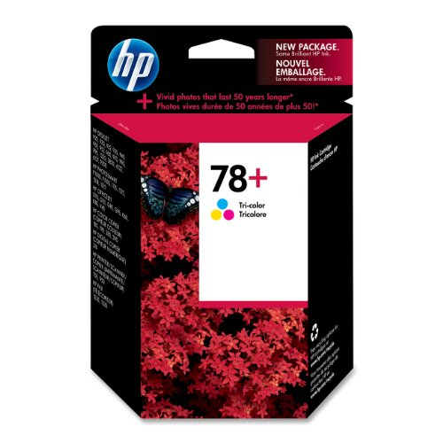 HP 78 Plus Tri-color Ink Cartridge (CB277AN#140)