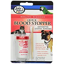 Four Paws Antiseptic Quick Blood Stopper Powder, 1/2-Ounce