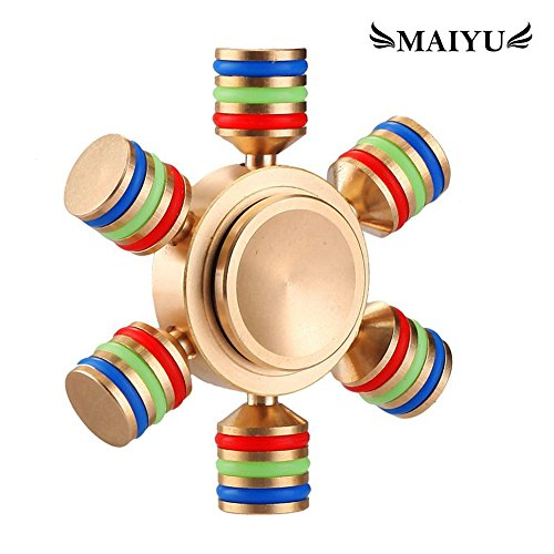 maiyu-diy-hexagon-fidget-spinner-toys-with-premium-stainless-steel-bearing-2-min-spin-time-brass-6-s