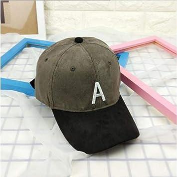 WOFDDH Gorra De Beisbol,Gorra De Verano De Moda Unisex Suede Hat ...