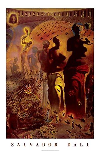 24x36 Salvador Hallucinogenic Toreador Poster