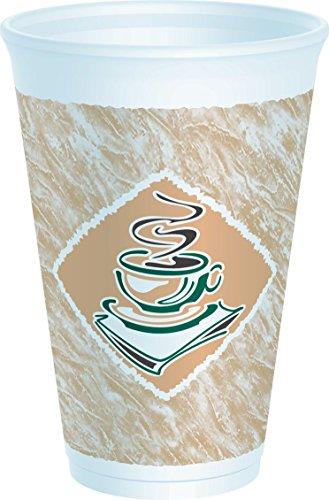 DCC 16X16G Dart Café G Foam Hot/Cold Cups - Best Value Supply