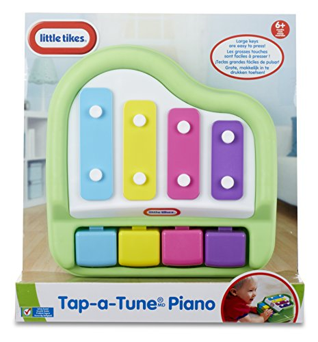 51T4XrSTLqL - Little Tikes Tap-A-Tune Piano Baby Toy