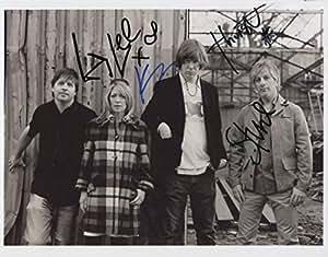 Sonic Youth totalmente foto autografiada 1st generación cruzerlite cestificado studyingstore (1) + 150