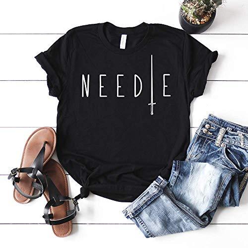 (Needle Arya Stark Game of Thrones T-shirt Unisex Women's Tee GOT)