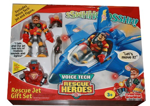 Rescue Heroes Voice Tech Rescue Jet Gift (Rescue Jet)