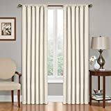 Eclipse Kendall Blackout - Panel de Cortina Termal, Ivory, 107 cm x 213 cm (42 in x 84 in)