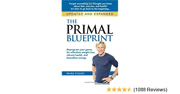 The primal blueprint reprogram your genes for effortless weight the primal blueprint reprogram your genes for effortless weight loss vibrant health and boundless energy primal blueprint series mark sisson malvernweather Image collections