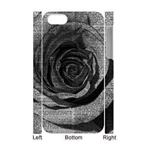 Vintage Flower Watercolor Brand New 3D Cover Case for Iphone 4,4S,diy case cover ygtg587591