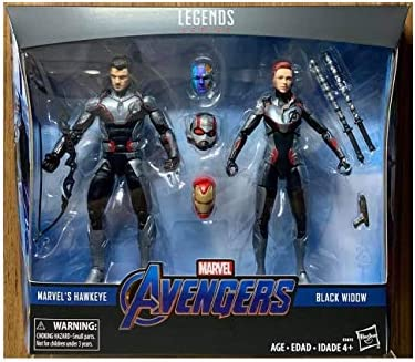 Hasbro Marvel Legends Avengers 4 6 Marvel S Hawkeye Black