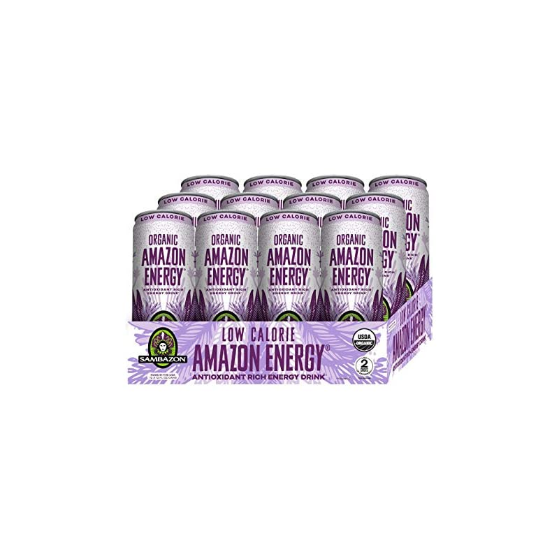Sambazon Amazon Energy Drink, Low-Calori