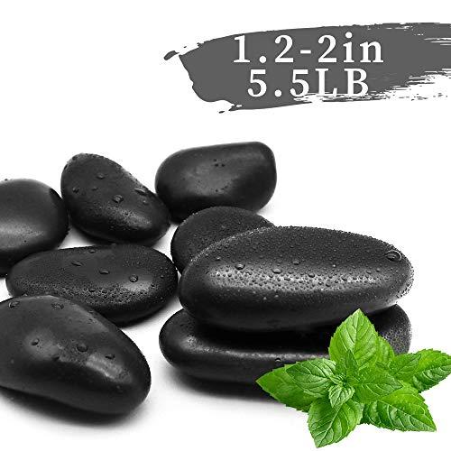black polished rock - 9