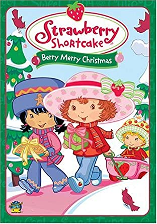 Amazon Com Strawberry Shortcake Berry Merry Christmas Sarah