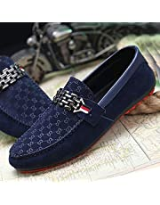 Leather Men Loafers Shoes Breathable Fashion Casual Slip-on Flats Man Driving Shoes Soft Moccasins