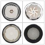 Sunnyflowk-3-colori-LED-Cambia-luce-Rubinetto-Doccia-Acqua-Sensore-di-temperatura-Nessuna-batteria-Rubinetto-acqua-Bagliore-Doccia-Vite-sinistra-argento
