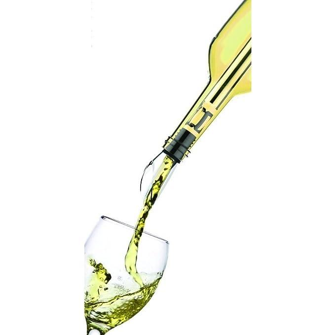 Enfriador de vino, aireador y vertedor: disfruta de una copa de ...