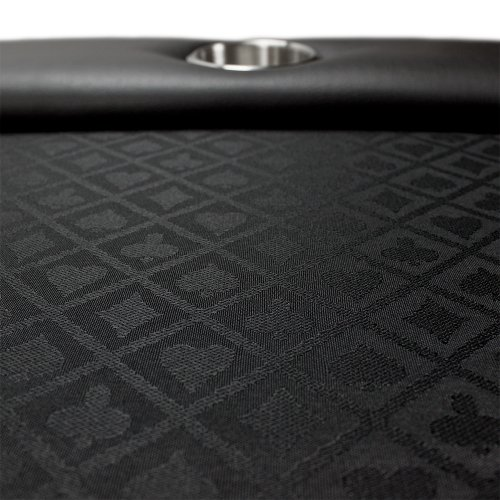84 X 42inch Black Suited Speed Cloth Poker Table Welcome
