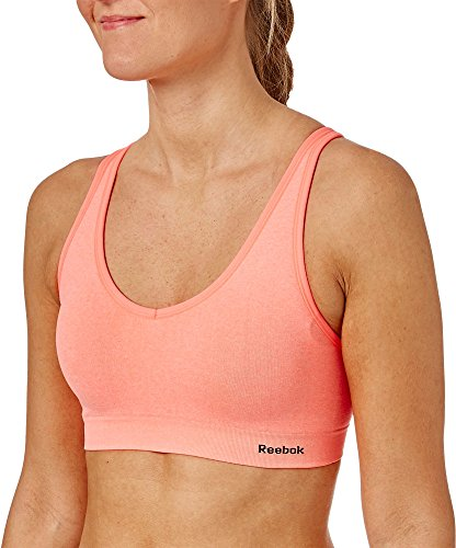 Sportivo Tropical Heather small X Coral Heather Reggiseno Donna Sulla Incrociato Reebok Schiena ASqRwAE