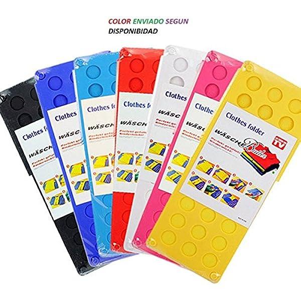 Doblador de ropa, colores surtidos medida 59x22: Amazon.es: Hogar