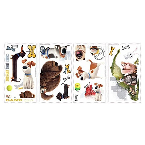 RoomMates-Secret-Life-of-Pets-Boys-Peel-and-Stick-Wall-Decals