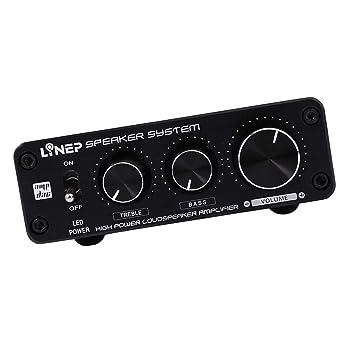 P Prettyia A928 Amplificador de Alta Potencia Estéreo HiFi, Mejoramiento del Audio