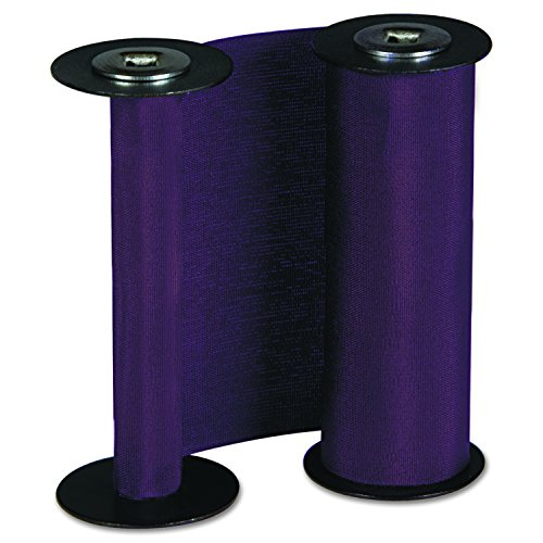Acroprint 20-0137-000 Replacement Ribbon for ET And ETC Document Stamps, Purple Time (Time Stamp Ribbon)