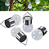 Outdoor Solar Garden Lights – White Color LED Solar Decorative Lights for Garden, Patio, Backyard