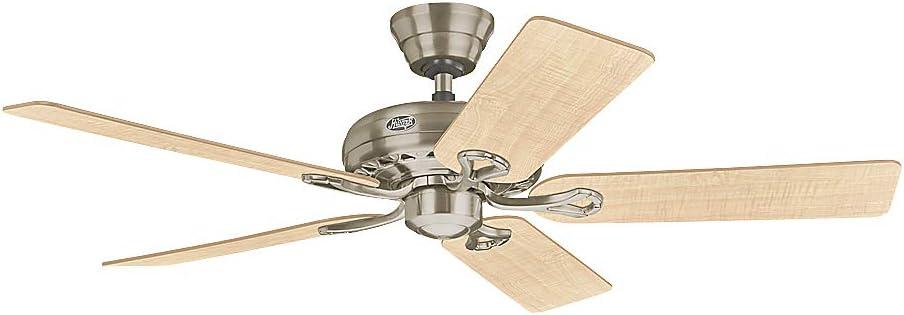 Hunter SAVOY BN - Ventilador de techo: Amazon.es: Electrónica