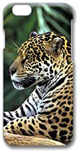 """Animals Leopard Case for iPhone 6 Plus(5.5"""") PC Material 3D(Compatible with Verizon,AT&T,Sprint,T-mobile,Unlocked,Internatinal)"""