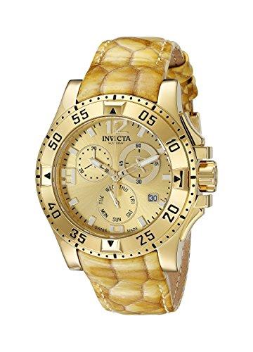 Invicta Women's 18321 Excursion Analog Display Swiss Quartz Gold Watch