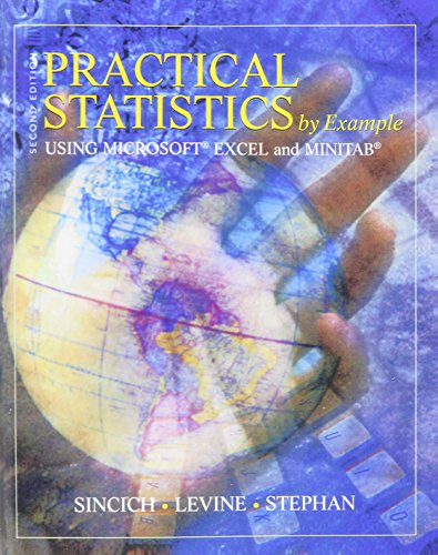 Download Practical Statistics by Example Using Microsoft Excel and