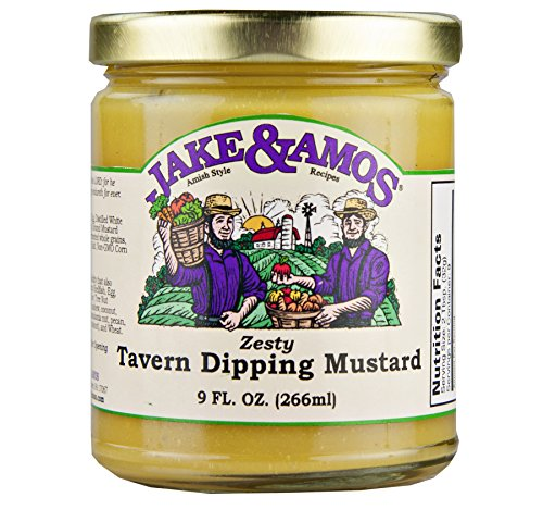 Jake & Amos Zesty Tavern Dipping Mustard 9 oz. (3 Jars) by Jake & Amos®