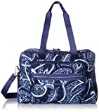 Vera Bradley Iconic Deluxe Weekender Travel Bag, Signature Cotton