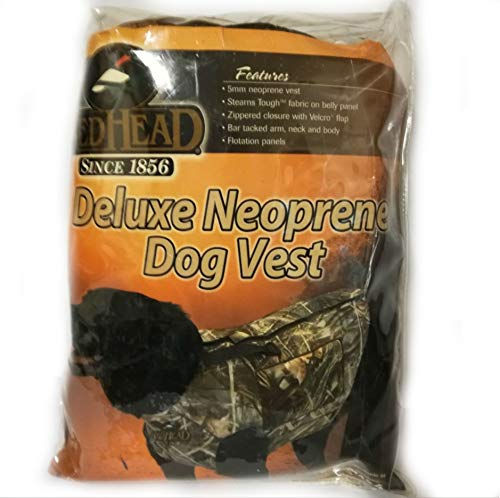 Bass Pro Shop Redhead Deluxe Neoprene Dog Vest Size XL