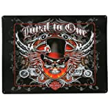 Harley-Davidson® Loyal to One Skull Embossed Tin Sign