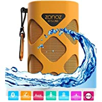 Zonoz BTS-ONE 10W Waterproof Wireless Portable Bluetooth Speaker - Orange