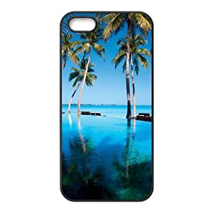 Beautiful Maldives Brand New Cover Case with Hard Shell Protection for Iphone 5,5S Case lxa#470459