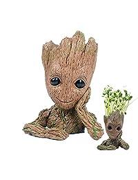 Moda Guardianes de la galaxia Groot Bebé cifras de acción de maceta lindo modelo para juguete, lapicero mejor regalos de Navidad para niños