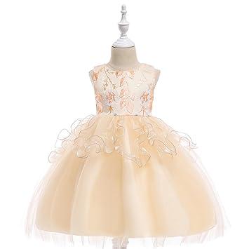 MOM 2018 Niñas Vestido de bebé Vestido de Malla Vestido de Princesa Vestido de Niña de