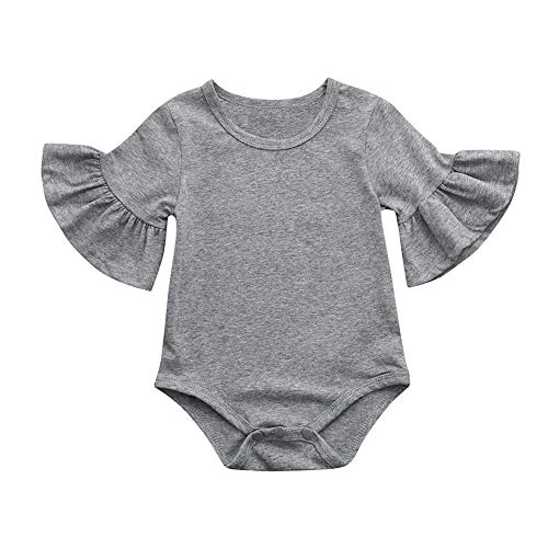 9139dad02 EISHOW 0-24 Months Newborn Infant Toddler Baby Girls Romper Clothes ...