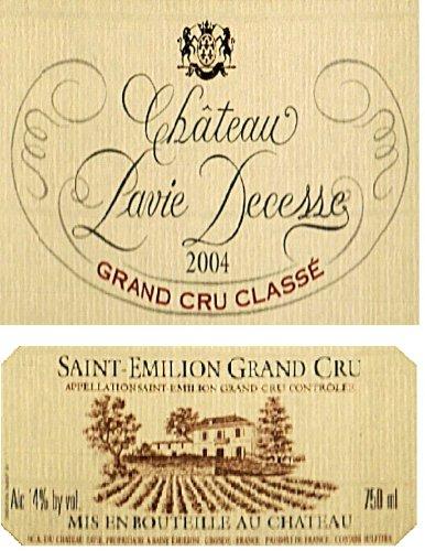 2004 Chateau Pavie Decesse Saint-Emilion Bordeaux 750 - Saint 2004 Emilion