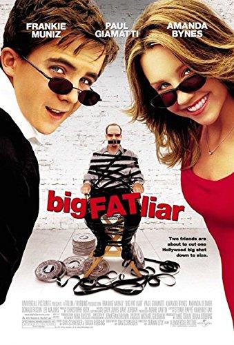 Big Fat Liar 2002 S/S Movie Poster 11x17