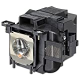 QueenYii ELPLP80 Compatible for EPSON PowerLite 585W Replacement Projector Lamp with bulb inside