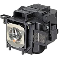 Emazne ELPLP80/V13H010L80 Projector Replacement Compatible Lamp With Housing For Epson EB-580 Epson EB-585W Epson EB-585Wi Epson EB-595Wi Epson Powerlite 580 Epson Powerlite 585W Epson Powerlite 585Wi